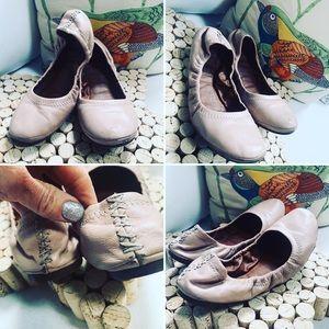 LUCKY brand Flats Sz 7M Ballet Flats Blush Tan